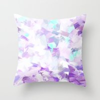 LIGHT BLOSSOMS II Throw Pillow