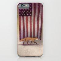The Fox & The Flag iPhone 6 Slim Case