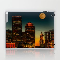 Boston Pink  Moon  Laptop & iPad Skin