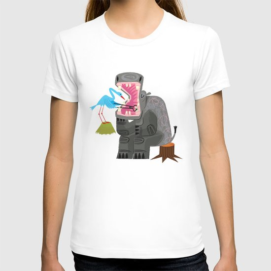 Hippopotamouth T-shirt