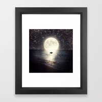 Imagine - Second Date  Framed Art Print