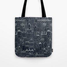 City At Night Tote Bag