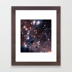 Stellar Eagle Nebula Framed Art Print