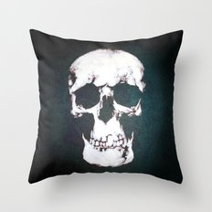 Sherlock Why Do You Have a Skull on Your Wall? Throw Pillow