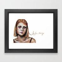 Margot Tenenbaum  Framed Art Print