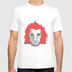 GOTHSTEIN White SMALL Mens Fitted Tee