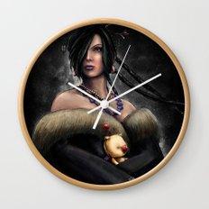 Final Fantasy X Lulu Painting Portrait Wall Clock
