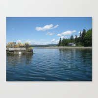 Boating Canvas Print
