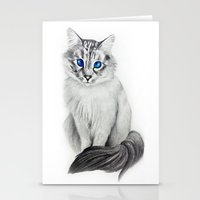 Ojos Azul Stationery Cards