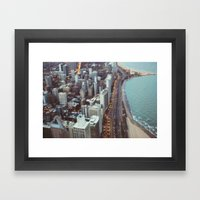 City Nights #3 Framed Art Print