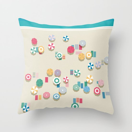 Summer High Throw Pillow