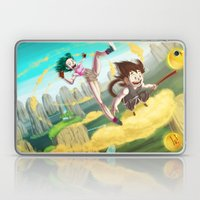 A ride with Son Goku Laptop & iPad Skin
