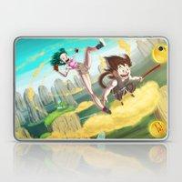 A Ride With Son Goku Laptop & iPad Skin