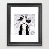Castor Framed Art Print