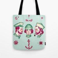 Sea Adventure - Love Tri… Tote Bag