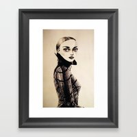 Past Future Framed Art Print
