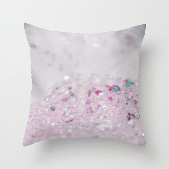 Pink Bling Throw Pillow
