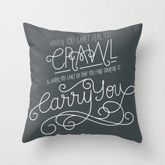 Firefly Quote : Carry You Throw Pillow