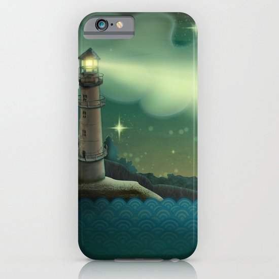 Sea landscape iPhone & iPod Case