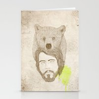 mr.bear-d Stationery Cards