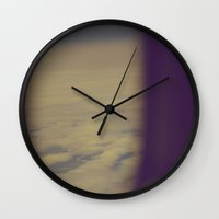 No Regrets (Vintage Colo… Wall Clock