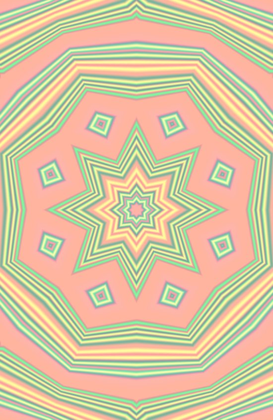 Pattern cute and sweet Art Print