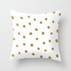 Golden touch II Throw Pillow