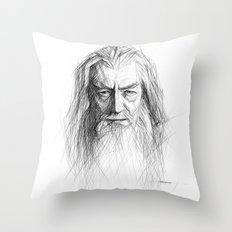 Gandalf Throw Pillow