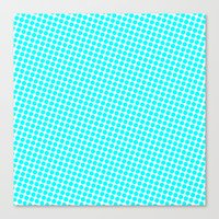 Canvas Print featuring BLUE DOT by Mr.DOT