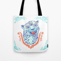 Cat Glasses Tote Bag