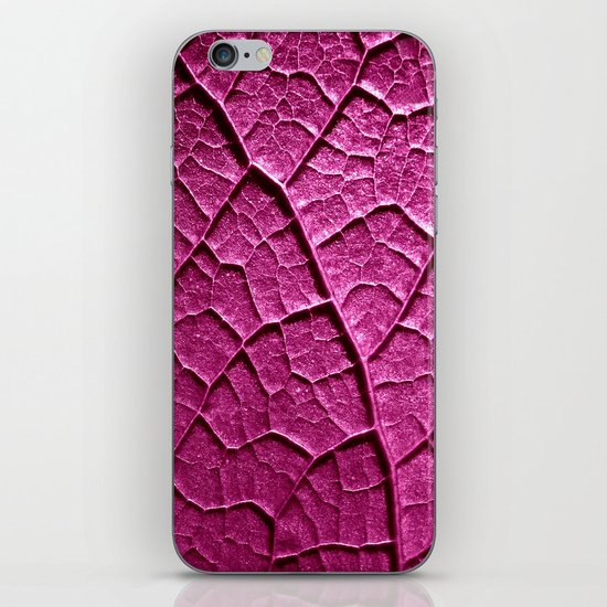 purple leaf iPhone & iPod Skin