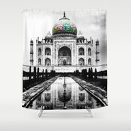 Taj Majal Shower Curtain
