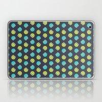 Blue Green Cute Bugs Pat… Laptop & iPad Skin