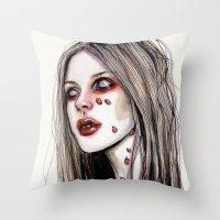 Avril - Under My Skin Throw Pillow