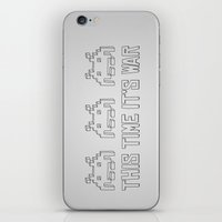 This Time It's War iPhone & iPod Skin
