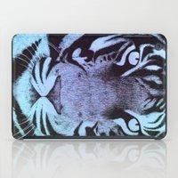 Be a Tiger (Blue) iPad Case