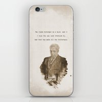 The One Less Traveled By iPhone & iPod Skin
