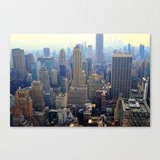New York Skyscraper View Canvas Print