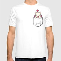 Kupocket Mens Fitted Tee White SMALL