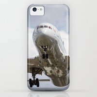 iPhone Cases featuring Virgin Atlantic Boeing 787 by David Pyatt