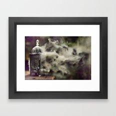 Grapevine fires Framed Art Print