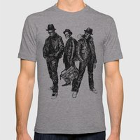 The Legend Of Hip Hop Mens Fitted Tee Athletic Grey SMALL