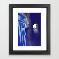 Hellas Framed Art Print