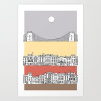 CLIFTON SUN Art Print