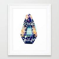 Twinkle Twinkle Gem Framed Art Print