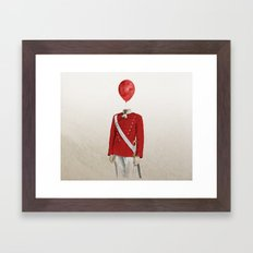 The Guard - #1 in my series of 4 Framed Art Print