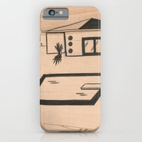 iPhone & iPod Case featuring Pool #1 by Olivia Whelan