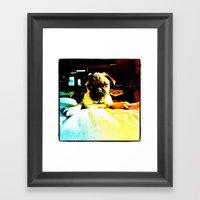 Beto Framed Art Print