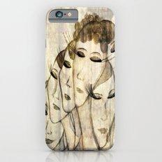 Silence shower iPhone 6 Slim Case