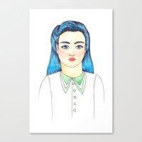 Evette Canvas Print